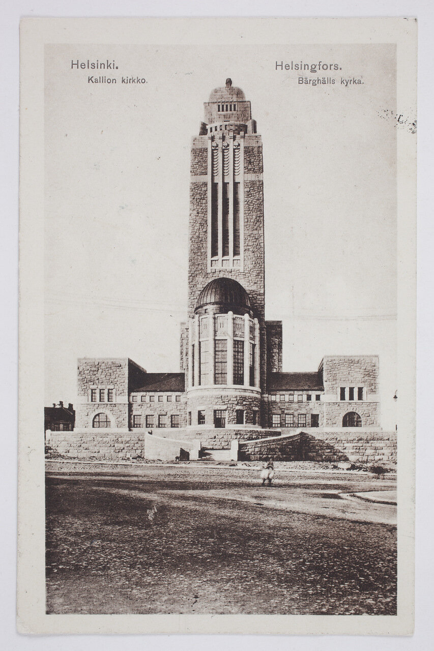 Церковь Каллио. 1915