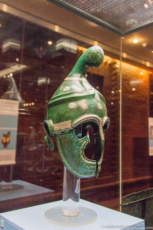 Фракийский шлем знати