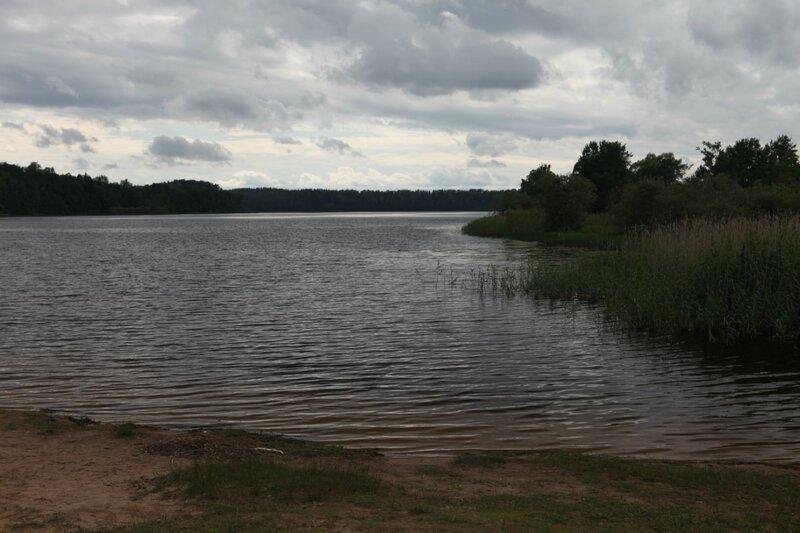 Поселок Пржвальское в Смоленском Поозерье, озеро Сапшо