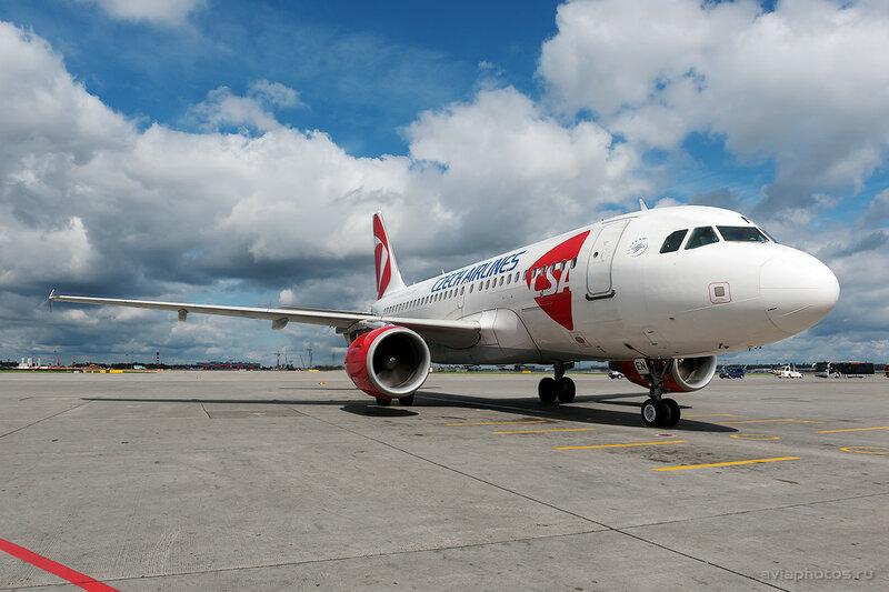 Airbus A319-112 (OK-NEN) CSA - Czech Airlines 095_D704042c