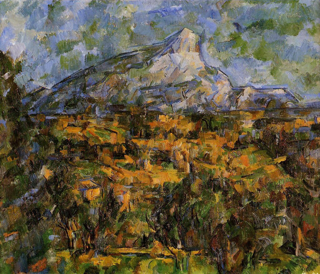 Mount Sainte-Victoire Seen from Les Lauves, 1904-06.jpeg
