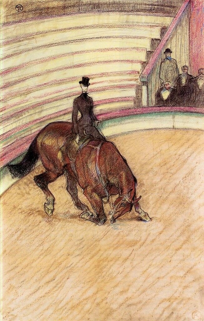 At the Circus - Dressage - 1899 - Private collection.jpg
