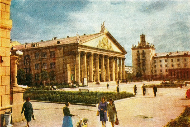 ZAVODFOTO / History of Russian cities in photos: Novosibirsk, 1961