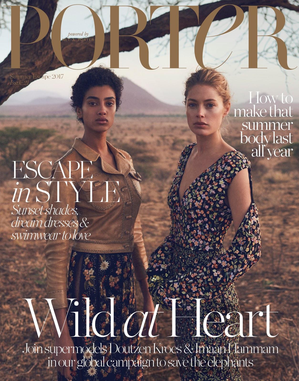 Porter Magazine #21 Summer Escape 2017