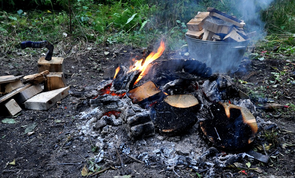 Сколько печь картошку в углях
