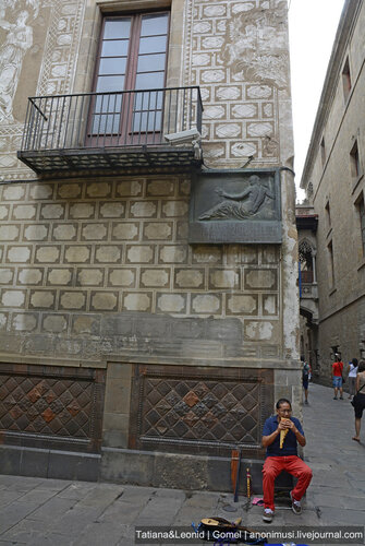 Готический квартал. Барселона