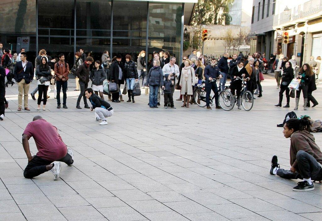 Барселона. Новая площадь (Plaça Nova)