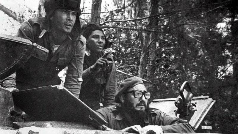 Фидель Кастро, Плайя-Хирон, 17 апреля 1961.