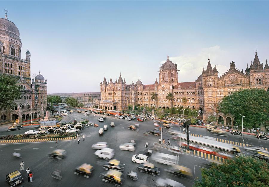9. Вокзал Chhatrapati Shivaji Terminus в Мумбае, Индия Этот железнодорожный вокзал, названный в чест