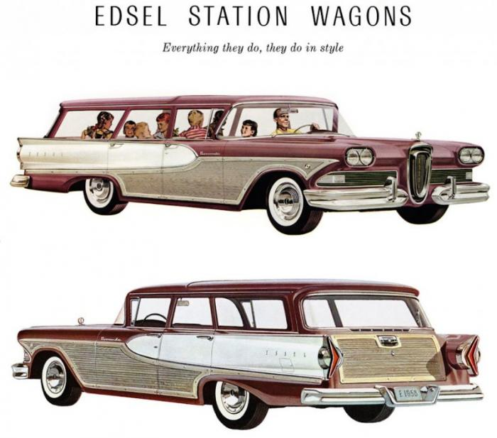 """Edsel – жизнь и смерть """"фордовского"""" Титаника"""