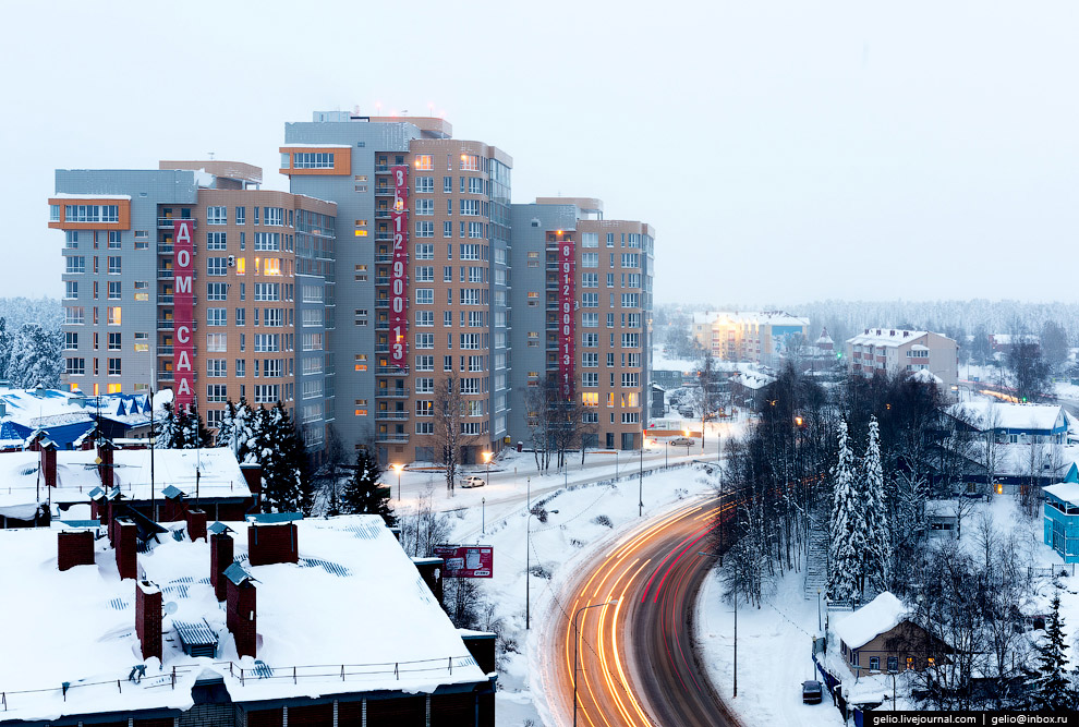 37. Жилые дома на улице Чехова.