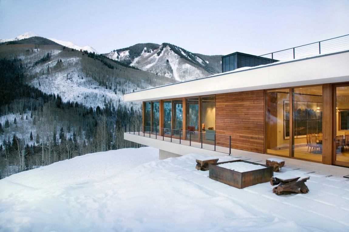 Проект дома Linear House от Studio B