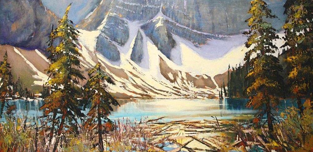 Линда Вайлдер — канадская художница. Линда обожает писать пейзажи, а мастихин — один из любимых ее и