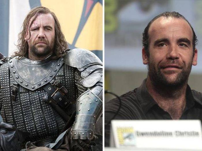 Актеры сериала «Игра престолов» без грима
