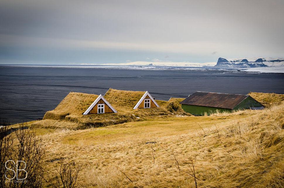 Национальный парк Скафтафелль, Исландия.