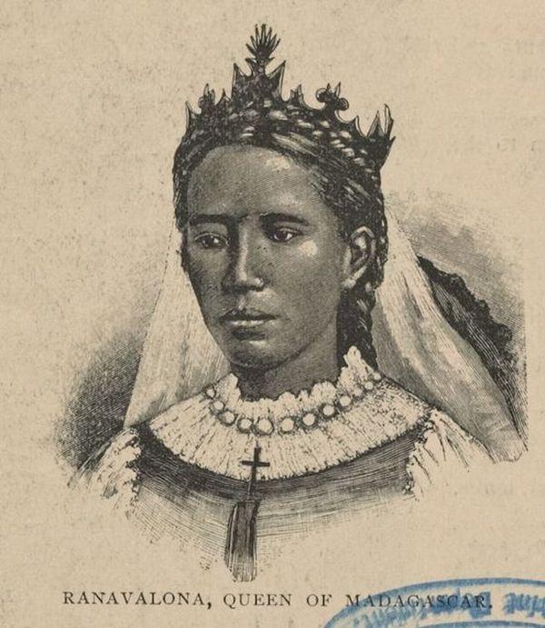 9. Одной из самых взбалмошных в истории была королева Мадагаскара Ранавалона. Она казнила своих подд