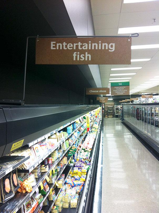 Развлекательная рыба.