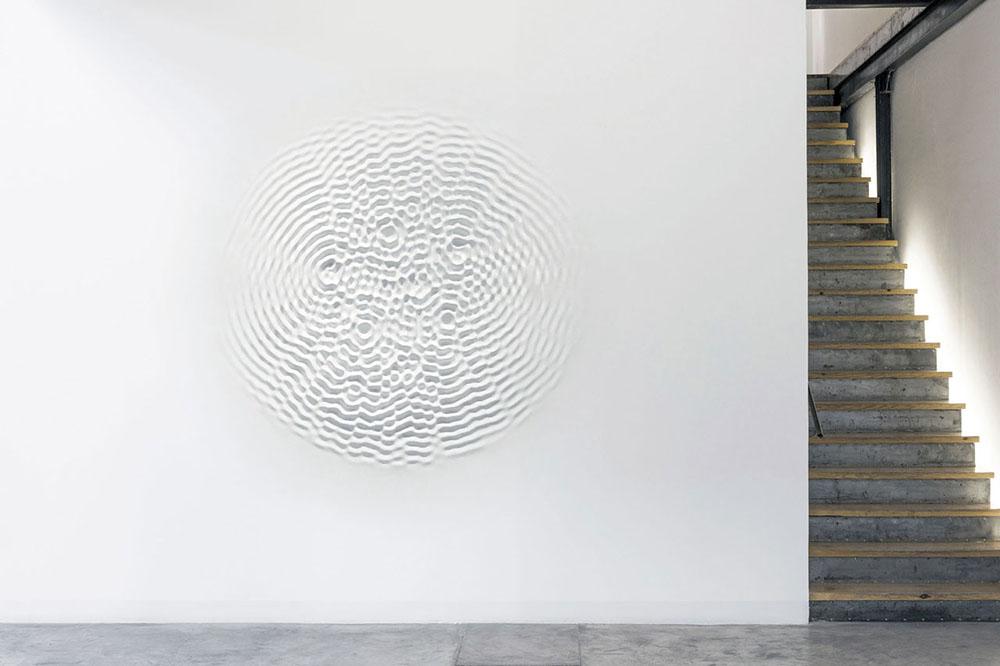 Скульптуры звуковых волн Loris Cecchini