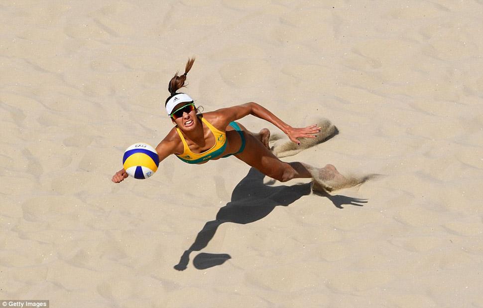 Талика Клэнси из сборной Австралии.