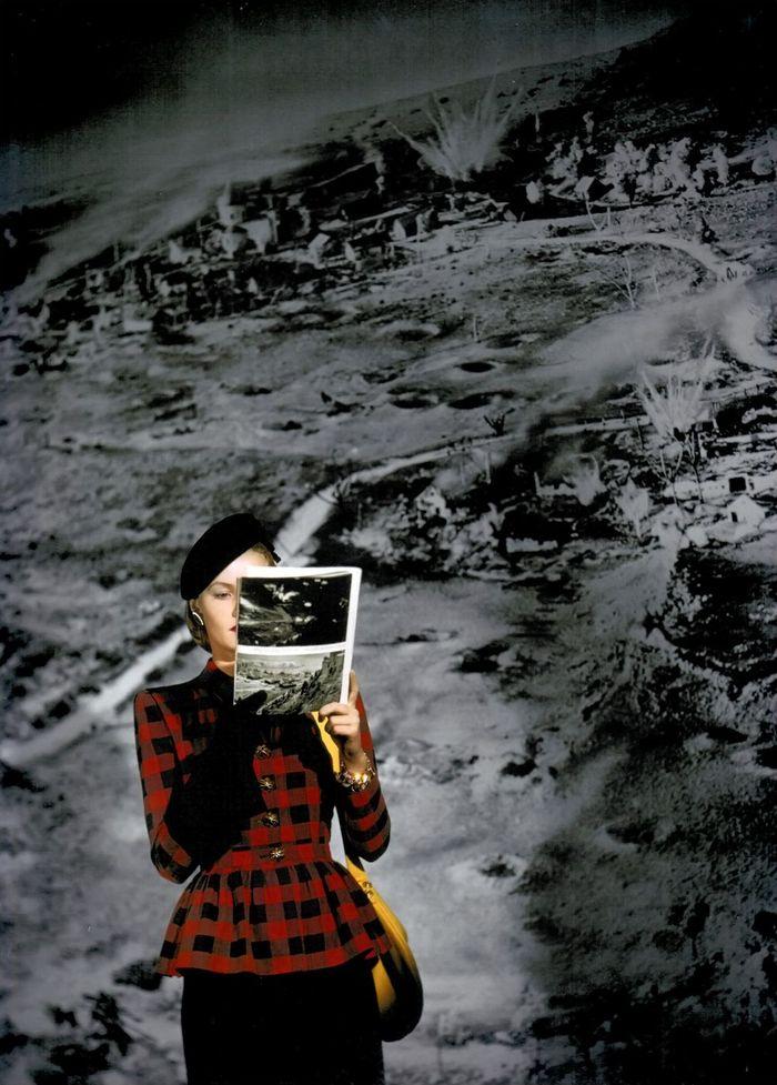 Constantin Joffe для Vogue, 1944 год.