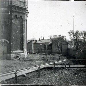 Водонапорная башня за р.Черемухой
