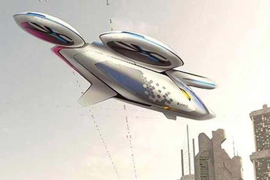 Airbus разработает летающее такси для борьбы спробками