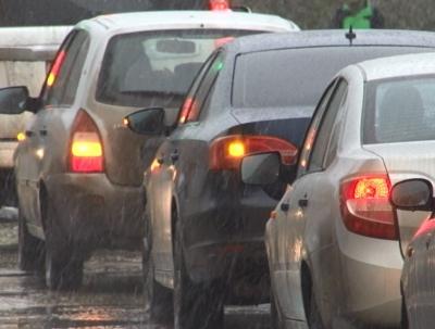 Самые длиннющие пробки вКазани были наГорьковском шоссе иЗалесной