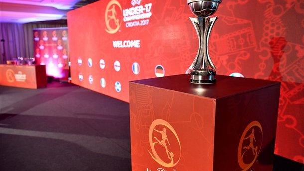 Сборная Украины U-17 узнала собственных соперников поЕвро