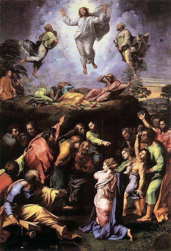 Raffaello Santi. Trasfigurazione