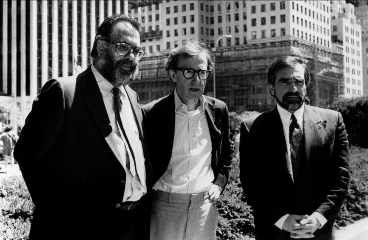 Francis F. Coppola, Woody Allen and Martin Scorsese