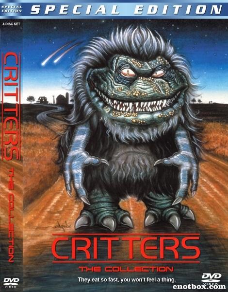 Зубастики (Коллекция) / Critters. The Collection / 1986-1992 / ПМ / WEB-DLRip (AVC)