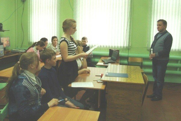 Сербско-русские связи, школа, телемост