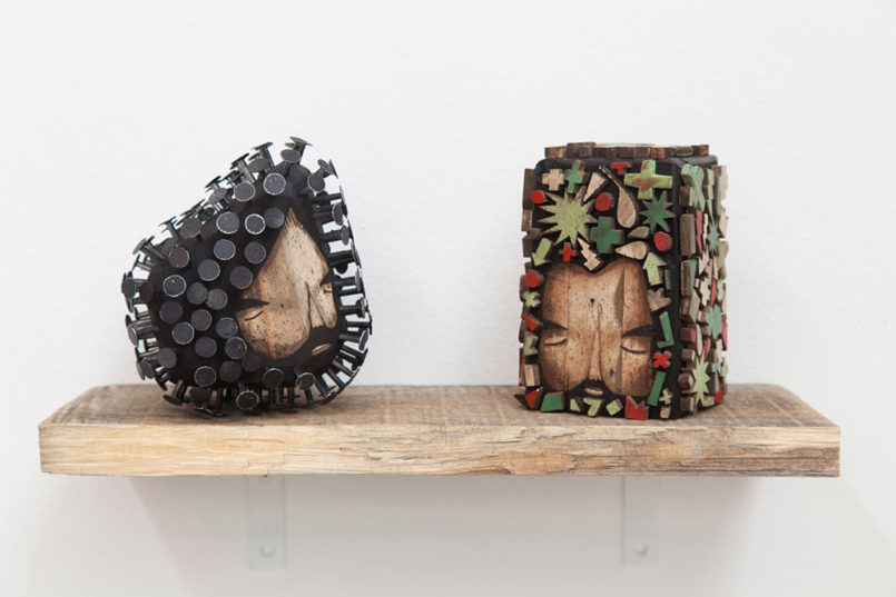 Nail & Wood: Sculptures by Jaime Molina