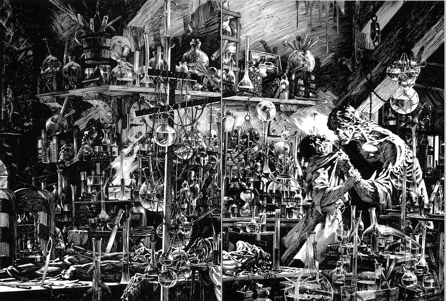 Bernie Wrightson – Passing of a Horror Legend (19 pics)