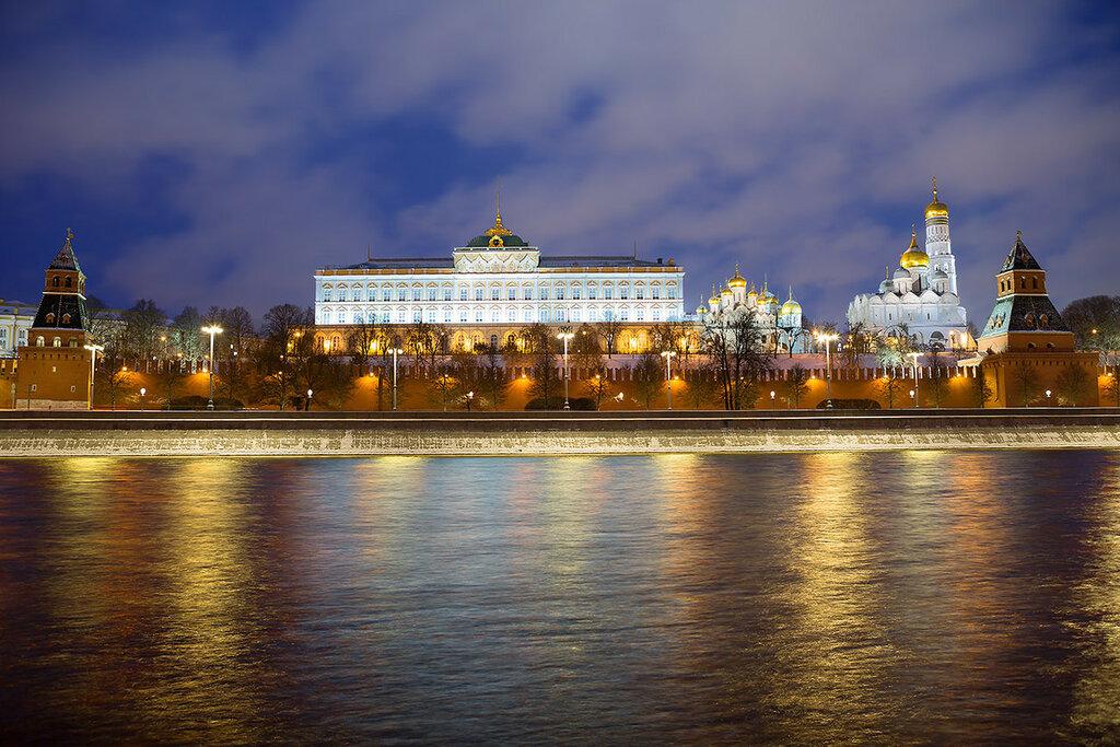 Москва Кремль. Большой Кремлёвский дворец.