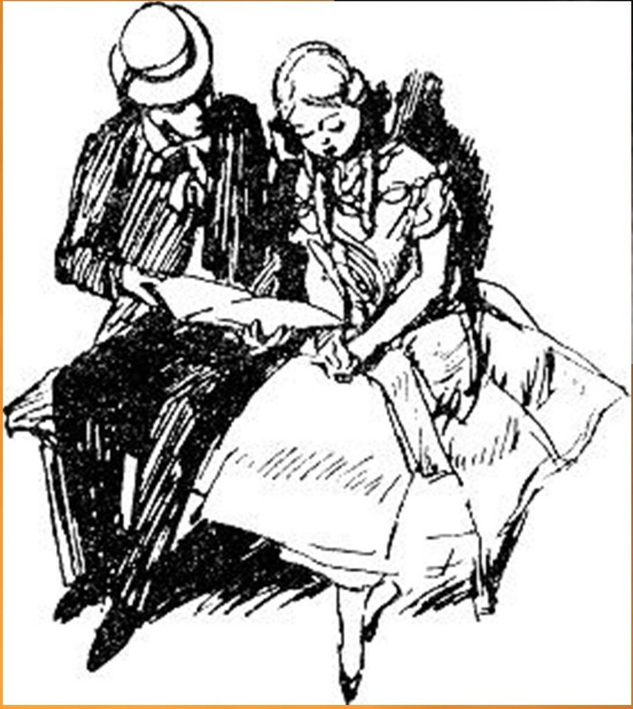 Иллюстрация В. Н. Горяева к пр-ю М.Твена Приключения Тома Сойера (28).jpg
