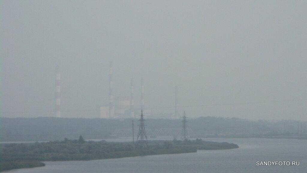 Ещё немного по теме смога над городом