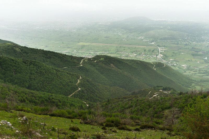 гора Митсикели (Mitsikeli), Загория, Греция