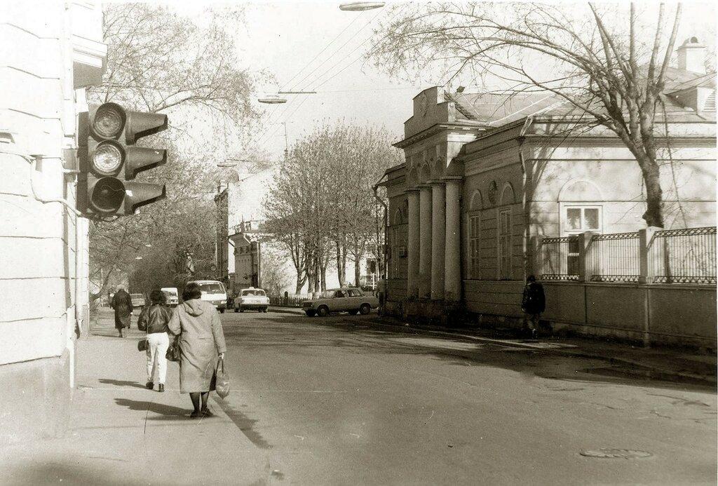 Улица Рылеева (Гагаринский переулок) Рубинин А.