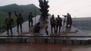 Памятник покорителям Енисея