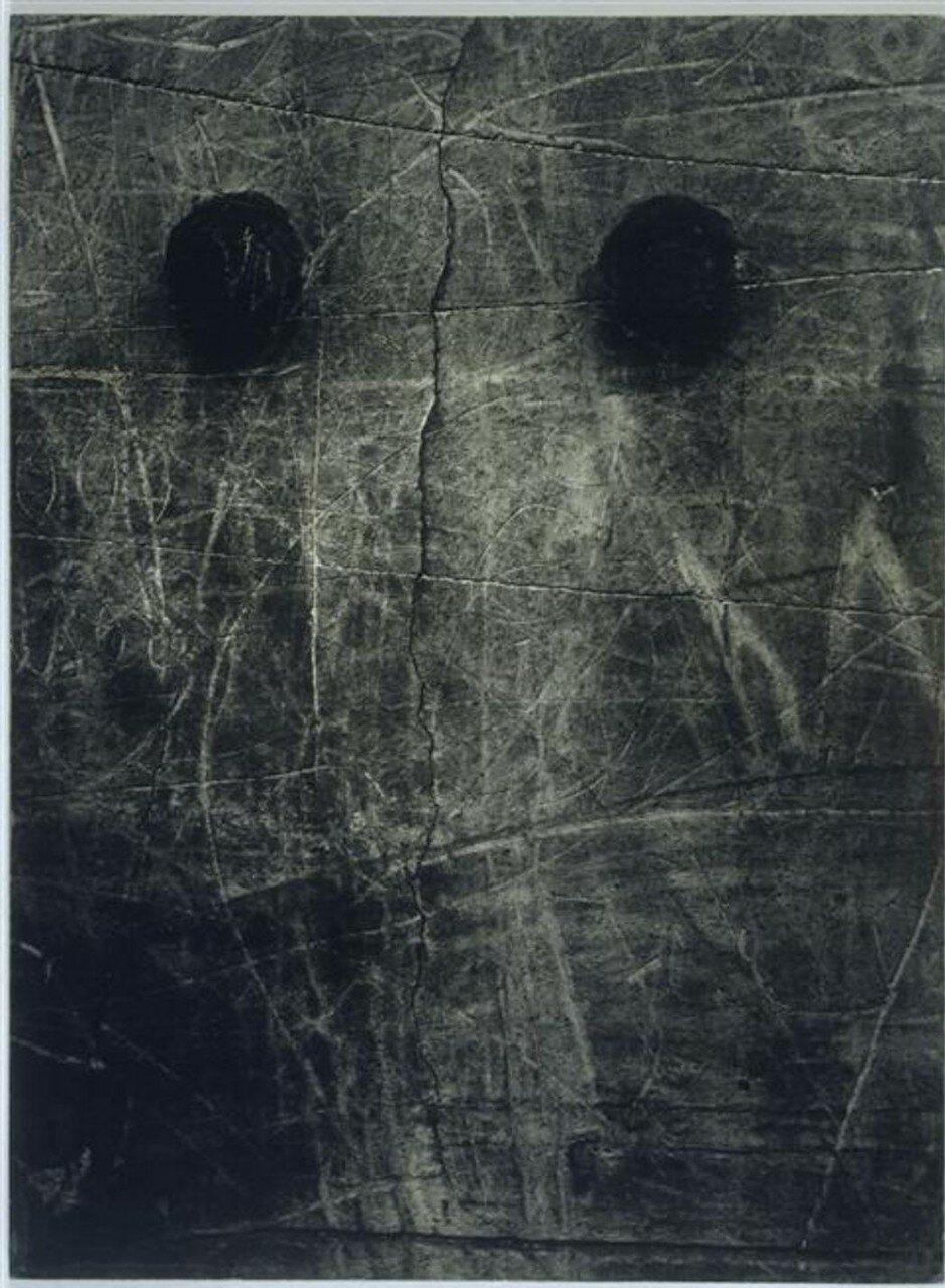 1935. Граффити. Серия III. Рождение лица