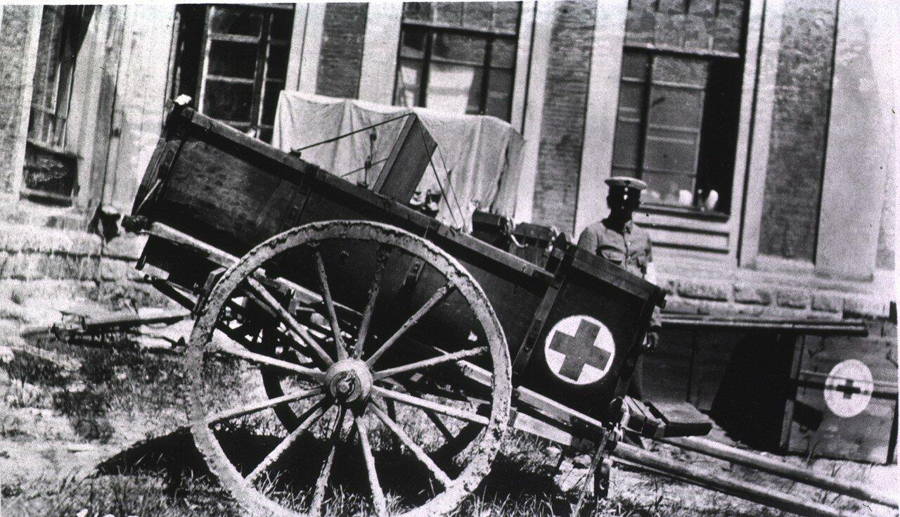 Финская телега скорой помощи. Харбин