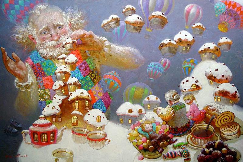 Сказочная живопись Виктора Низовцева (5).jpg