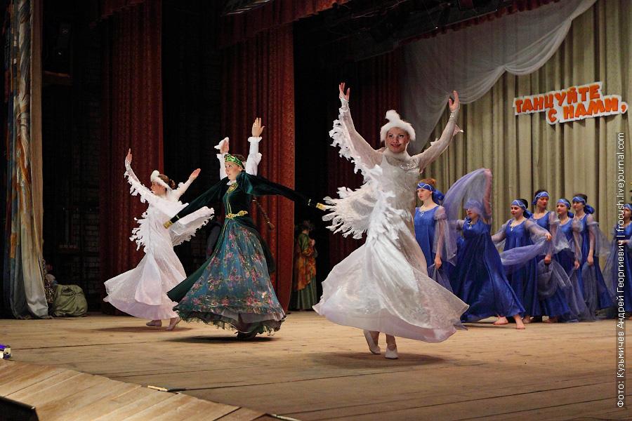 ожившие в танце картины Васнецова
