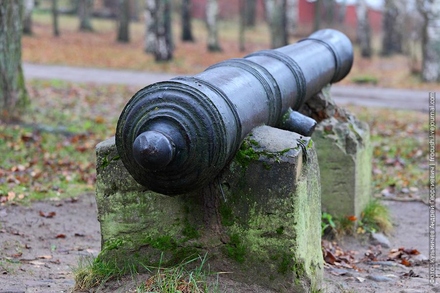 пушки, бывшие на вооружении Калязинского Троицкого мужского монастыря
