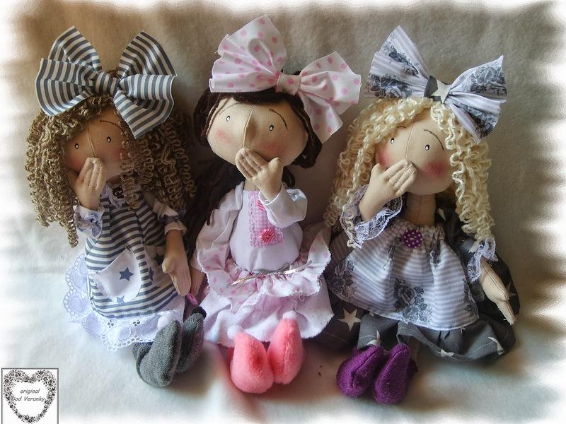 куклы своими руками. фото