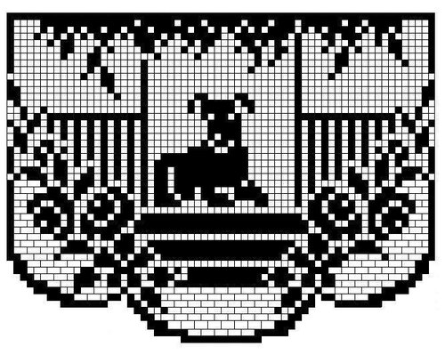 【引用】外网:欣赏钩、编、绣图案 - 秋林红叶 - 秋林红叶