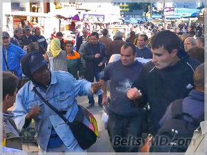 Чернокожий унионист стал участником драки в Кишинёве