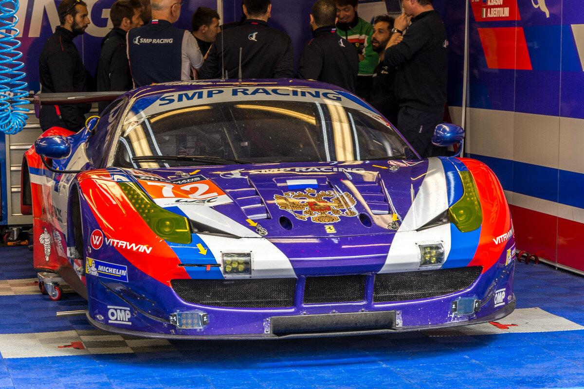 Ferrari российской команды SMP Racing