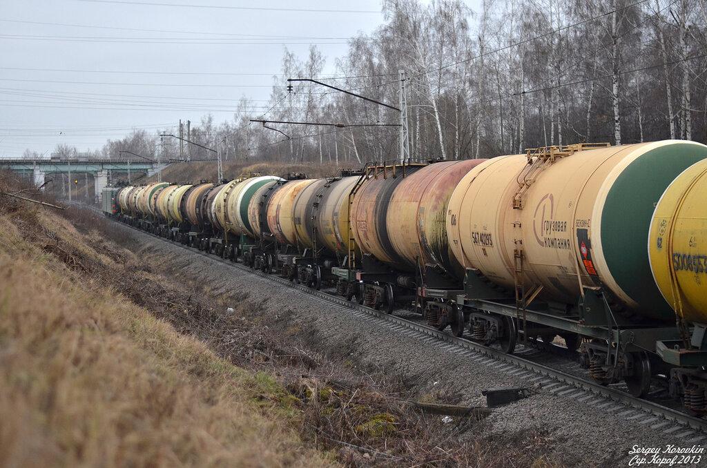 Железнодорожный пейзаж №5